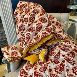Opalhouse quilt and sham